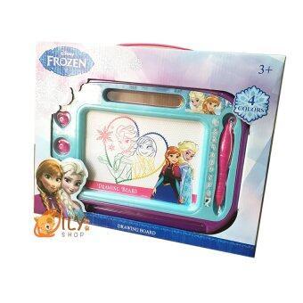 Disney Frozen Frozen Drawing Board กระดานวาดรูปเเม่เหล็กโฟรเซ่น 4สี เขียนเเล้วลบได้ (image 4)