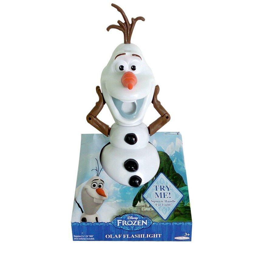 ขาย Disney Frozen ตุ๊กตา Olaf Flashlight