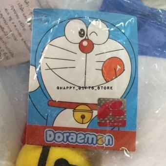Doraemon ตุ๊กตา โดเรม่อน ท่านั่ง 16 นิ้ว ผ้าทีคอต (สีฟ้า) (image 2)
