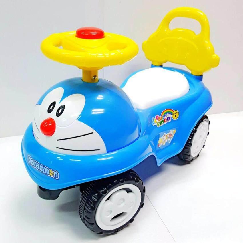 Doraemon Sliding Car โดราเอม่อน รถขาไถ รถขาถีบ รถเด็กนั่ง โดเรม่อน(สีฟ้า)