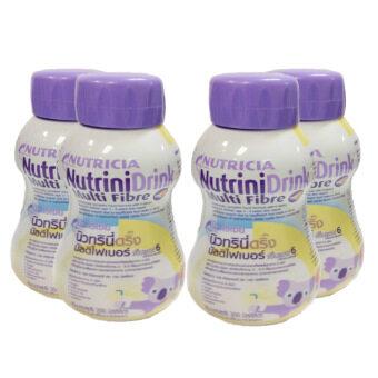 Dumex Nutricia NutriniDrink นิวทริเซีย นิวทรินี่ดริ๊งรสวานิลา 200 ml 4 ขวด/Pack (3 Pack)