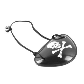 Era Pirate Eye Patch Skull Crossbone Halloween Party Favor Bagcostume Kids Toy - intl