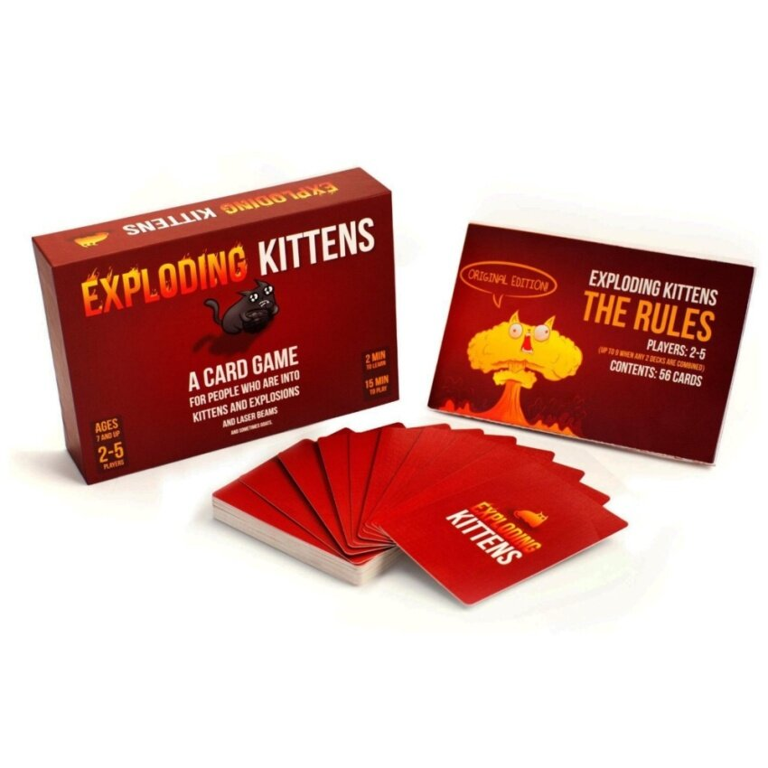 Exploding Kittens: A Card Game About Kittens and Explosions and Sometimes Goats - intl