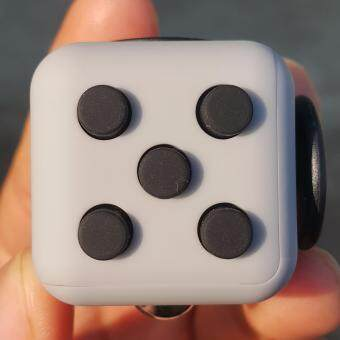 Fidget Cube Toys A Vinyl Desk Kickstarter ������������������������������������������������ Toys For Girl Boys Chrismtas Gifts Fidget Cube Black Green Grey Red Toys Cube (image 0)