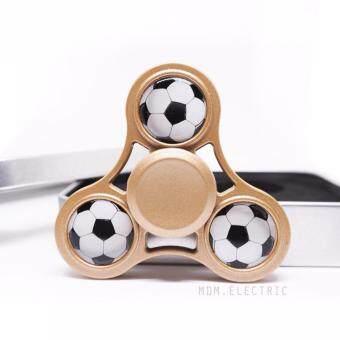 Fidget Spinner - ฟุตบอล Football Hand Spinner อัลลอย อย่างดี สีทอง