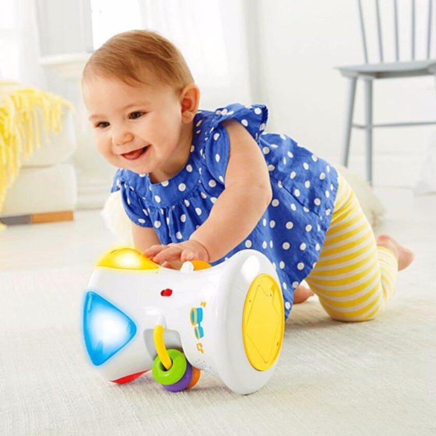 Fisher-Price® Bright Beats 2-in-1 Musical Drum Roll