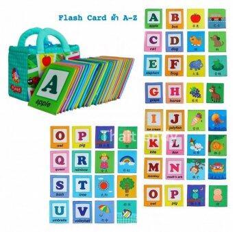 Thaitrendy Flash Card การ์ดคำศัพท์ หนังสือผ้า ABC