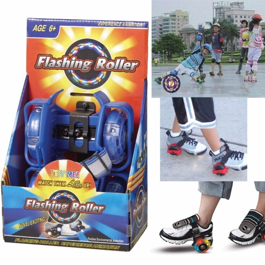 Flashing Roller สเก็ตติดรองเท้าสุดแนว เล่นสนุก สุดเท่ห์