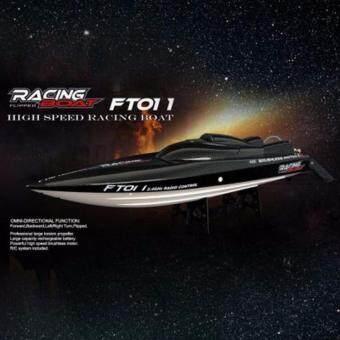 FT011 2.4 GHz Brushless RC เรือความเร็วสูง เรือแข่ง เรือสปีดโบ๊ต พร้อมระบบระบายความร้อน Speed Racing Boat