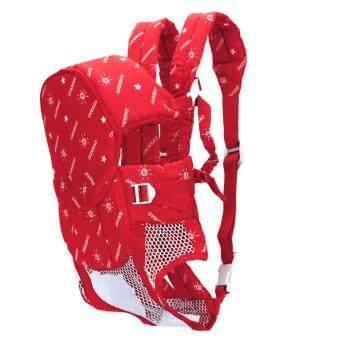 ขายแฟชั่นร้อนหลาย Fuctional ไหล่เด็กสายกระเป๋าเป้สะพายหลัง...สีแดง
