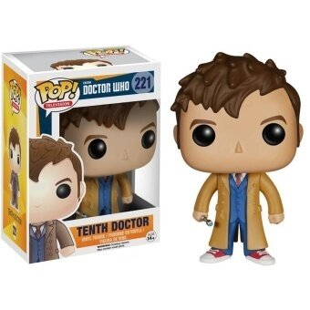 Funko Pop Doctor Who Tenth Action Figure Toy - intl