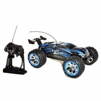 Gadget รถบักกี้ Off Road บังคับวิทยุ Land Buster Buggy 4WD12 สเกล 1:12 (Blue)