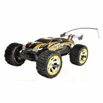 Gadget รถบักกี้ Off Road บังคับวิทยุ Land Buster Buggy 4WD12 สเกล 1:12 (Golden)