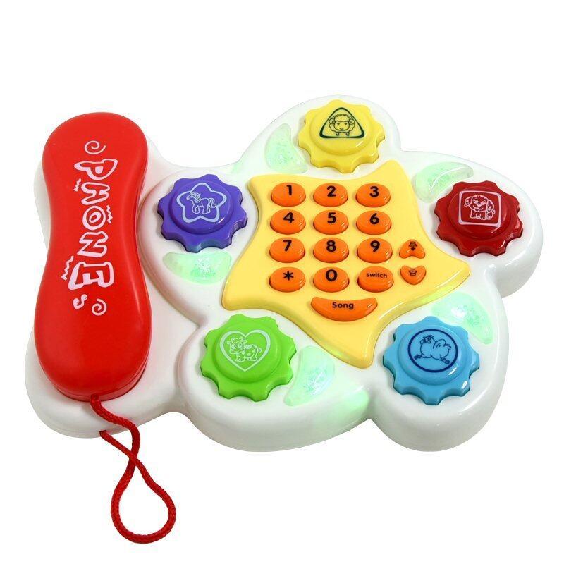 GALAXY โทรศัพท์เด็กเล่น Enlighten Phone รูปดาว รุ่น 5035