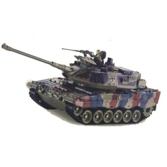 รถถังบังคับ German Leopard 2A61:18 พร้อมควัน ยิงกระสุน