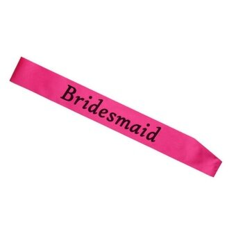 GETEK Luxury Hen Night Do Party Sashes Bride To Be BridesmaidMother Of Maid Of Sash - intl