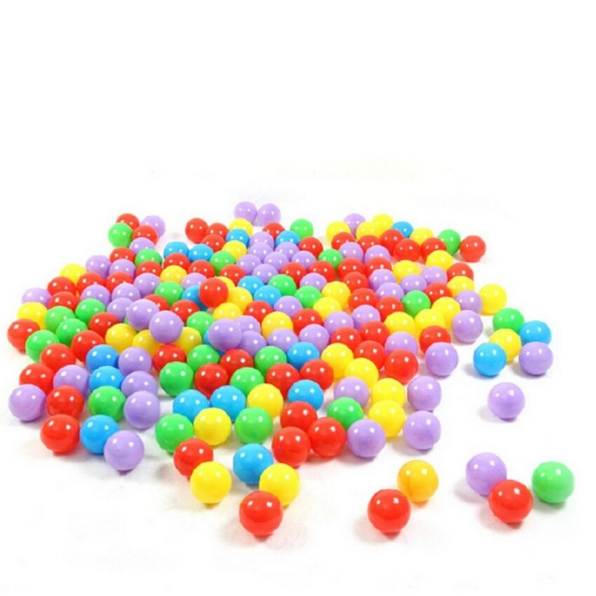 goong (An Order Limit To Buy One)Ball Pit Balls For Baby Kids 100pcs Non-Toxic Crush Proof Ocean Plastic Ball - intl