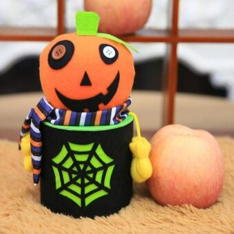 Halloween Ghost Candy Bottle Gift Box Can Case Household Home House Party - intl