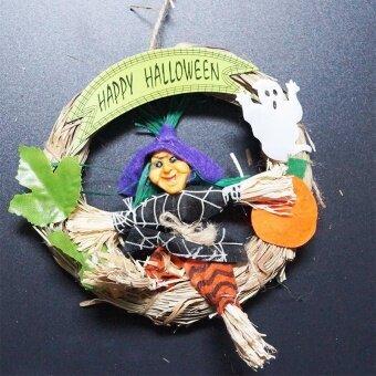 Halloween Hanging Decorations Stylish Creative Ghost Door Sign forClassroom - intl