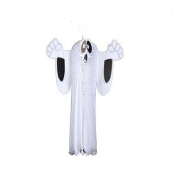 Halloween you must have it Halloween Cosplay Masque White HangingGhost Garden Decorations House Props - intl