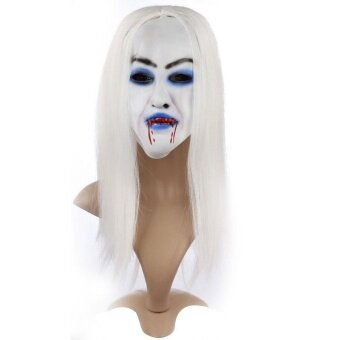 Halloween you must have it Halloween Mask Hag Reenactment AdultFancy Dress Party Masquerade Ball Scary - intl