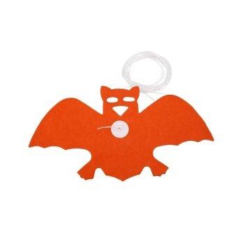 Halloween you must have it Halloween Pumpkin Spider Hanging GhostPaper Garland Prop Haunted House Decor - intl