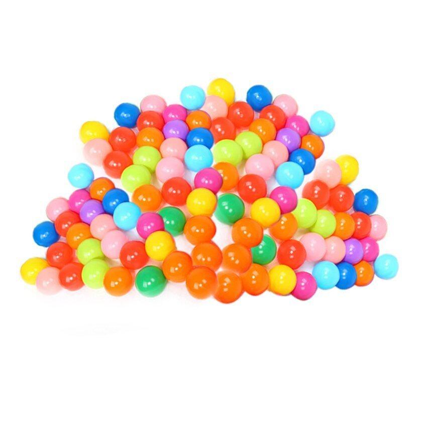 HAOFEI colorful ball Soft Plastic ocean ball funny baby kid Swim Pit Toy100pcs