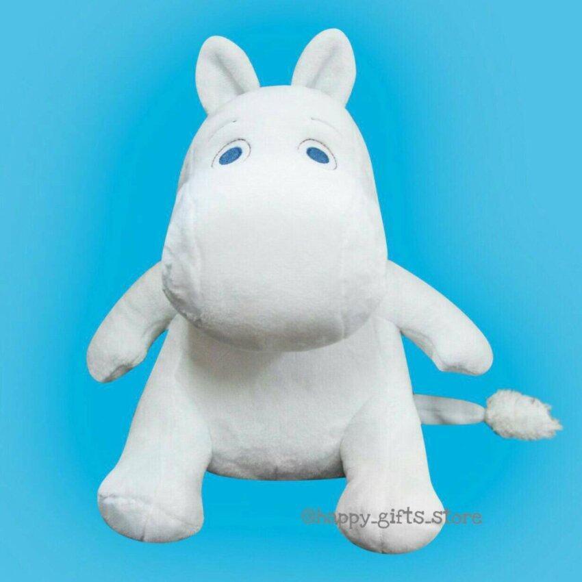 Happy Gifts Store Moomin ตุ๊กตา มูมิน ขนาด 24 นิ้ว - ท่านั่ง (สีขาว)