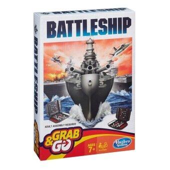 BATTLESHIP GRAB AND GO ฮาสโบร แบทเทิลชิปเกมส์ครอบครัวขนาดพกพา ลิขสิทธิ์แท้