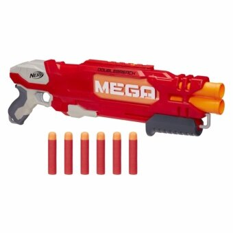 HASBRO NERF MEGA DOUBLEBREACH ฮาสโบร ปืนเนิร์ฟ เมก้า ปืนดับเบิ้ลบรีช ลิขสิทธิ์แท้