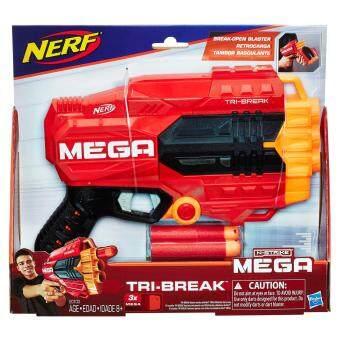 HASBRO NERF MEGA TRI BREAK ฮาสโบร เนิร์ฟ เมก้า ไทรเบรค ปืนเนิร์ฟ ลิขสิทธิ์แท้
