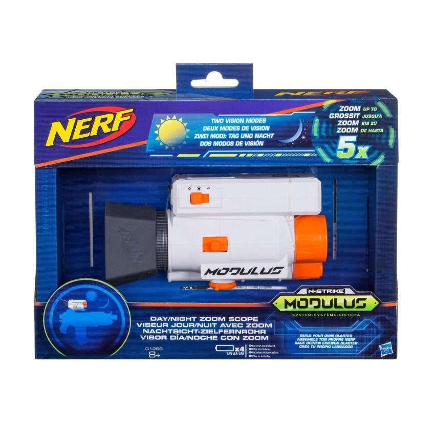 HASBRO NERF MODULUS DAY NIGHT ZOOM SCOPE ฮาสโบร ปืนเนิร์ฟ โมดูลัส กล้องส่องทางไกล อุปกรณ์เสริมปืนเนิร์ฟ ลิขสิทธิ์แท้