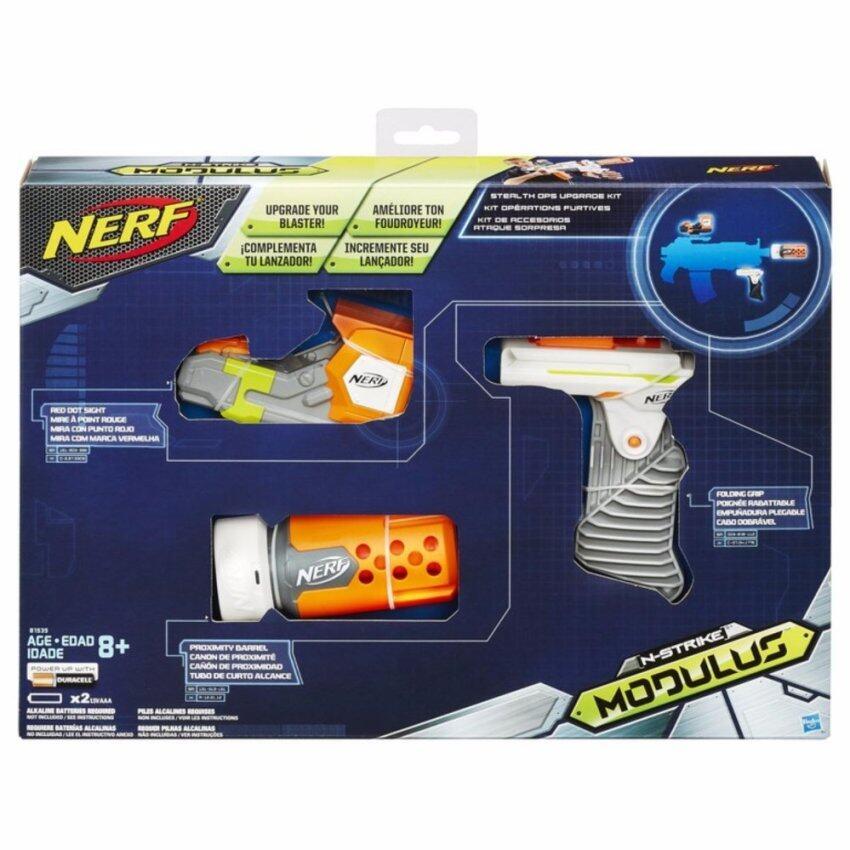 HASBRO NERF MODULUS STEALTH OPS UPGRADE KIT ฮาสโบร ปืนเนิร์ฟ โมดูลัส ชุดอัพเกรด ปืนเนิร์ฟ ลิขสิทธิ์แท้