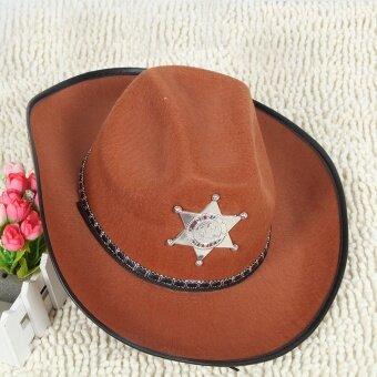 Hat ชุดแฟนซีปาร์ตี้ยีนส์หมวก
