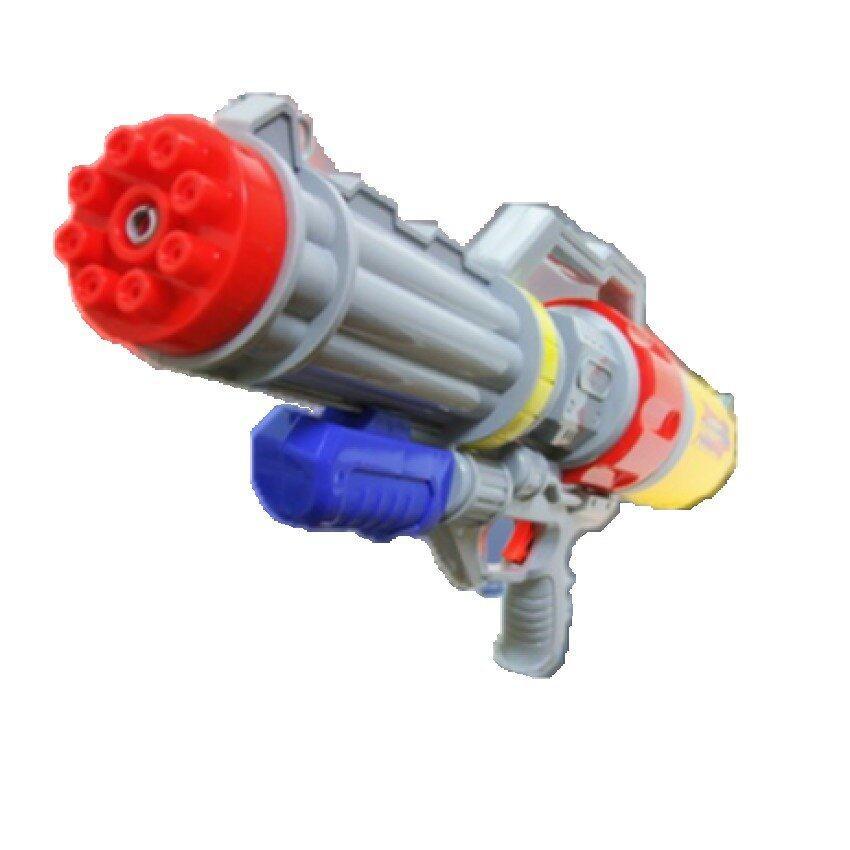 Hellomom ปืนกลฉีดน้ำอัดแรงดัน23นิ้วWater gun 23 with presure