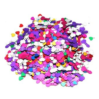 Hen party holiday party throw confetti table decorations - intl