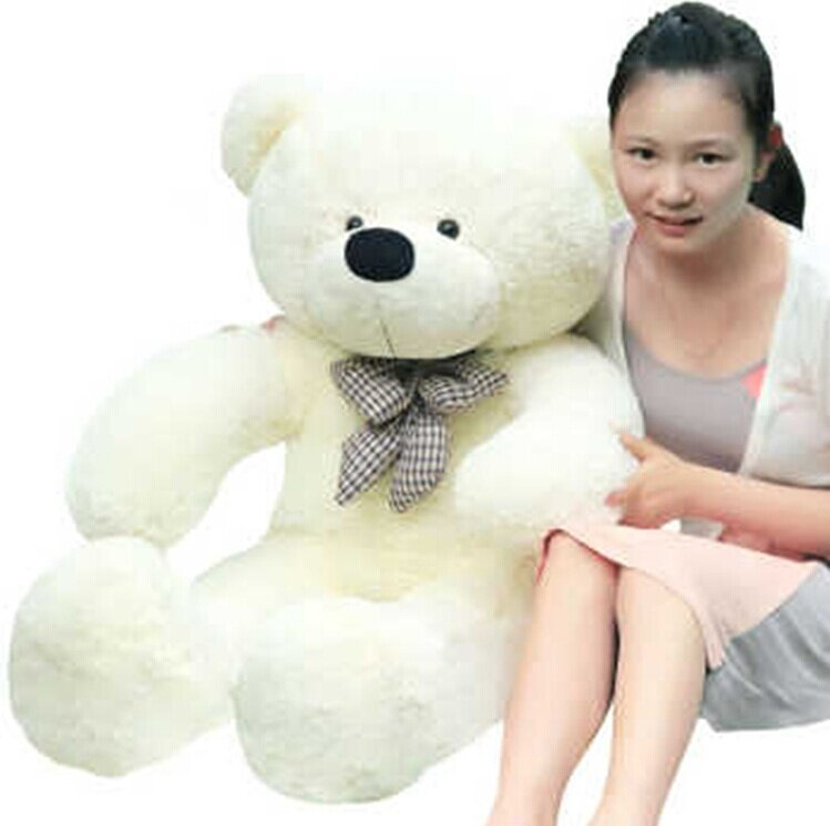 High quality Low price Plush toys large size 60cm/80cm embrace bear doll /lovers/christmas gifts birthday gift - intl