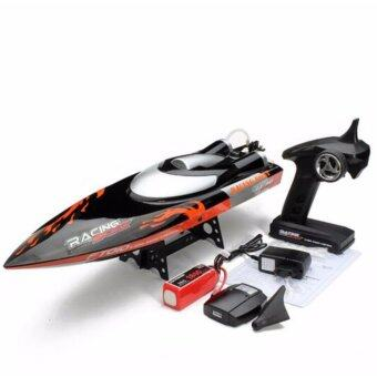 เรือบังคับระบบไฟฟ้า High Speed Racing RC Boat Fei Lun FT010 2.4G RC Racing Boat Built-in Cooling System with Righting Function