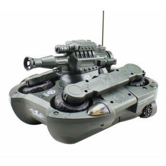 Hitech รถถังบังคับวิทยุ Trans Former แปลงร่างเป็นเรือ (image 0)