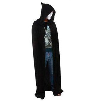 Hotsale Hooded Cloak Halloween Costumes Death Reaper Demon Vampireclothes Dress - intl