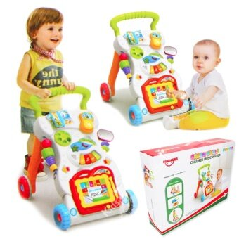 Harga รถผลักเดิน Huanger Dream World Children Music Walker