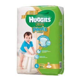 Huggies Ultra Gold แบบกางเกง ไซส์ L 44 ชิ้น สำหรับเด็กชาย