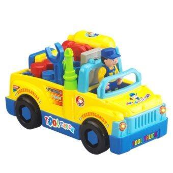 Huile Toys รถช่าง รถของเล่น