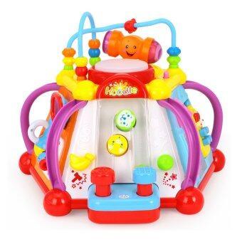 Huile Toys กล่องกิจกรรม 6 ด้าน Little Joy Box - Multicolor