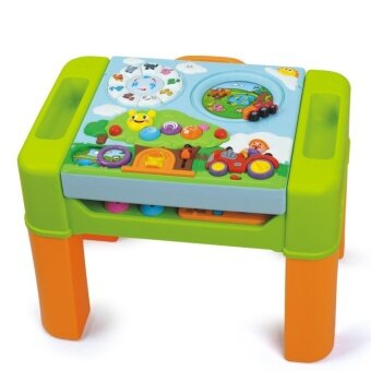 Huile Toysโต๊ะกิจกรรม 6in1(Intellectual Interactive Table)