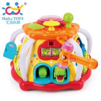 Huile Toys กล่องกิจกรรมใหญ่ Interesting fun box large
