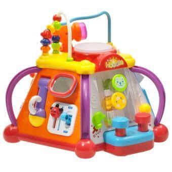 Huile Toys กล่องกิจกรรมเล็ก Interesting fun box small ของเล่นเด็ก