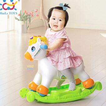 Huile Toys ม้าน้อยโยกเยก Happy Rocking Pony