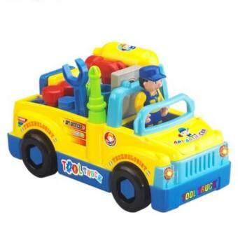 Huile Toys Tools Truck รถบรรทุกเครื่องมือวิศวกร