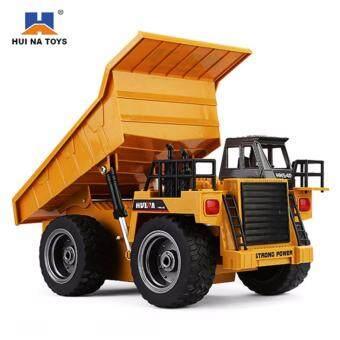 รถดั๊มบังคับวิทยุไร้สาย HuiNa Toys รุ่น 1540 Dump Truck Scale 1:18บังคับได้เหมือนจริงมาก